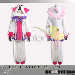 EE0238AF League of Legends Luxanna Crownguard Cosplay Costume