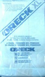 ORECK XL Commercial Upright Bags Lot of 19 BLUE XL2000 XL8000 Free Shipping *67