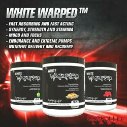 Controlled Labs WHITE WARPED Pre Workout Energy Focus Pump 30 Serves PICK FLAVOR
