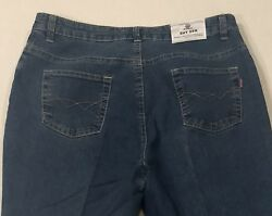Shy Ger Italian Embroidered Women's Capri Jeans No Tag See pics