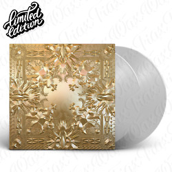 Jay Z  Kanye West - Watch The Throne [2LP] Vinyl Limited Edition ClearColored