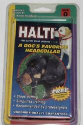Halti Head Collar for Dogs  NO PULL!    NIPSEALED   Sz. 0   Doxie Poodle Yorki $9.99