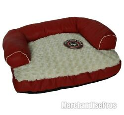 PRECIOUS TAILS MEDIUM SIZE DOG BED WITH REMOVABLE WASHABLE COVER NEW $44.00