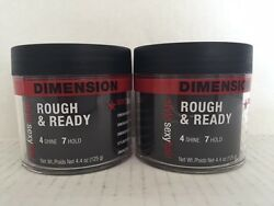2 Style Sexy Hair Rough & Ready Dimension with Hold 4.4 oz unisex for shaping