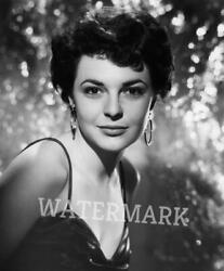 ANNE  BANCROFT WHEN SHE WAS YOUNG GLITTERY BACKGROUND HEAD SHOT  PUBLICITY PHOTO
