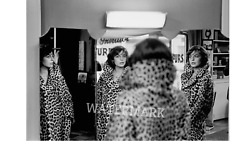 BEAUTIFUL ANNE  BANCROFT WHEN SHE WAS YOUNG IN LEOPARD PRINT  PUBLICITY PHOTO