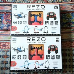Two World Tech Elite Rezo Racing Drones one Bue the other Red BRAND NEW $79.00