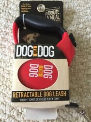 New Dog For Dog Retractable Dog Flat Ribbon 9.8 Ft for dog up to 45 Lb $15.00