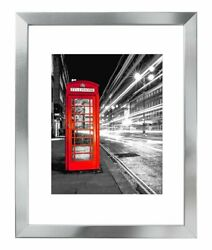 Americanflat Silver Picture Frame - Display Pictures 11x14 8x10 or 5x7