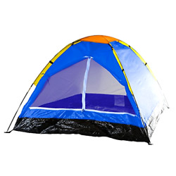 2 Person Tent Camping Backpacking Dome Shelter Outdoor Small Tent Blue . $32.08