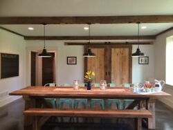 Barn Schoolhouse Lights: Pair of Ivanhoe® Hanging Pendant Shades NEW IN BOX $210.00