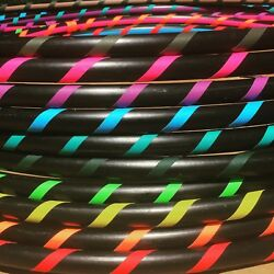 SPIRAL GRIP Weighted Beginner Fitness Hula Hoop DANCE EXERCISE  $30.00