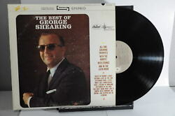 George Shearing The Best Of George Shearing Capitol Records 1964 LP