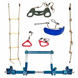 Gym1 Indoor Playground with Swing Climbing Ladder and Rings