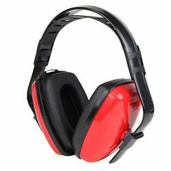 Noise Cancelling Ear Muffs Hearing Protection Shooting Tool Adult Defender Red