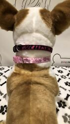 Dog Collars For Small Dogs. Set Of Two Collars. $15.00