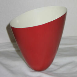 Vintage Conical Aluminum Metal Replacement Shade Mid Century Lighting $12.00