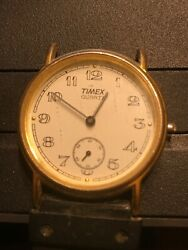 VINTAGE TIMEX WATCH T CELL MENS FOR PARTS NOT TESTED cbt $19.99