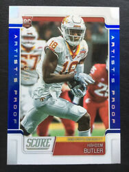 2019 Score Rookie Artists Proof Non Auto Hakeem Butler RC 35