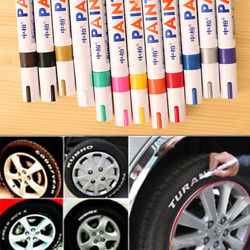 Waterproof Permanent Paint Marker Pen For Car Tyre Tire Tread Rubber Metal