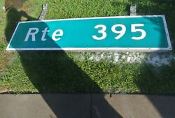 California US route 395 highway road sign with mounting bracket great man cave