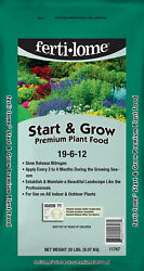 Fertilome Start N Grow 20 lb slow release fertilizer plant food 19 6 12 $32.00