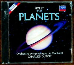 Holst: The Planets ~ CD ~ SEALED ~ Charles Dutoit