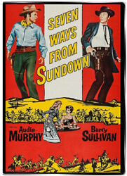 Seven Ways from Sundown 1960 DVD - Audie Murphy Barry Sullivan