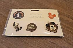 Disney Mickey Mouse Memories April 3 Pin Set Limited Release Series 412