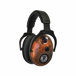 DUAL EARMUFFS 27DB KRYPTEK ORANGE ENHANCED SOUND ACTIVATED COMPRESSION
