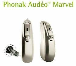 New Phonak Audeo Marvel M90-312 M90-R* Hearing Aids with Bluetooth RIC