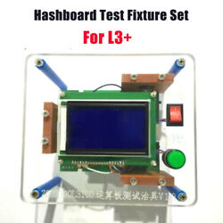 Antminer Test Fixture For L3+ hash board repair miner chip test stand w TF Card