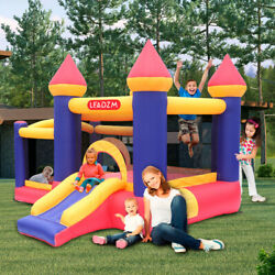 Safety Inflatable Bounce House Castle Kids Party Jumper Slide Bouncer Blower $168.59