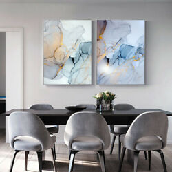 Marble Texture Canvas Poster Abstract Nordic Wall Art Print Modern Home Decor $6.87
