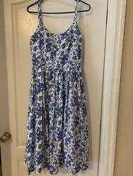 1950s Retro Vintage Hearts and Found Penelope Dress Small