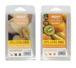 Airpure French Vanilla & Exotic Fruits Scented Wax Melts 16 Uses 25% EXTRA FREE