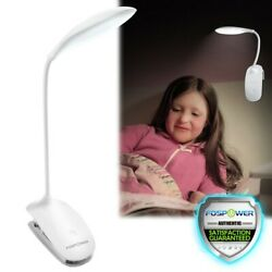 USB Clip-on Table Desk Bed Piano Reading Light Desk Lamp Dimmable LED Flexible $12.99