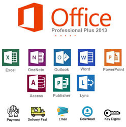 Office 2013 Professional Plus Key Download Link For 1 PC Genuine