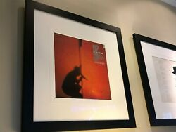 U2 All 4 Autograph Signed Vinyl Record Album LP Framed Display~Epperson+JSA COAs