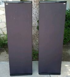 Rare MIRAGE M-1Tower Speakers Pair Hi-end Piano Gloss Black
