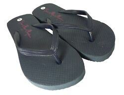Free Ship - Navy or Brown Flip Flips -All sizes NEW - Ladies - 6-7-8-9-10-11  $6.49