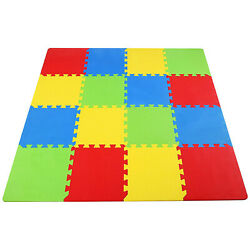 Baby Play Mat Infant Floor Gym Activity Crawling Kids Children Eva Foam Exercise