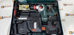 Metabo KHA 18LTX BL24 Quick Set ISA Rotary Hammer w Dust Collection 600211900 $200.00