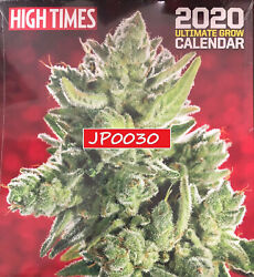 High Times 2020 Ultimate Grow Calendar Brand NewSealed Newwstand Edition