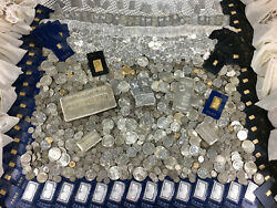 OLD US SILVER COINS UNCIRCULATED .999 GOLD COIN TREASURE MIX LOT COIN COLLECTION