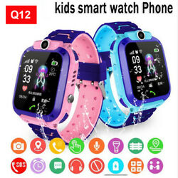 USA Smart Watch with GPS GSM Locator Touch Screen Tracker SOS for Kids Children