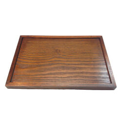 Rustic Wooden Serving Trays For Breakfast Coffee Table Butler