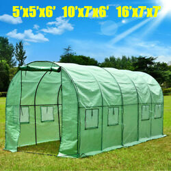 Walk In Greenhouse Large Canopy Outdoor Hot House Plant Gardening 10''x7''x6''