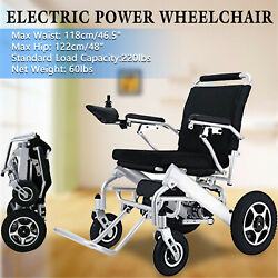 Electric Wheelchair Power Wheel chair Lightweight Mobility Aid Motorized Folding $1,163.99