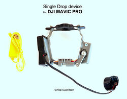 Single Dropper for DJI Mavic pro. payload release for drone fishing amp; Rescue $115.00